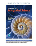 Conceptual Integrated Science  Loose Leaf Edition