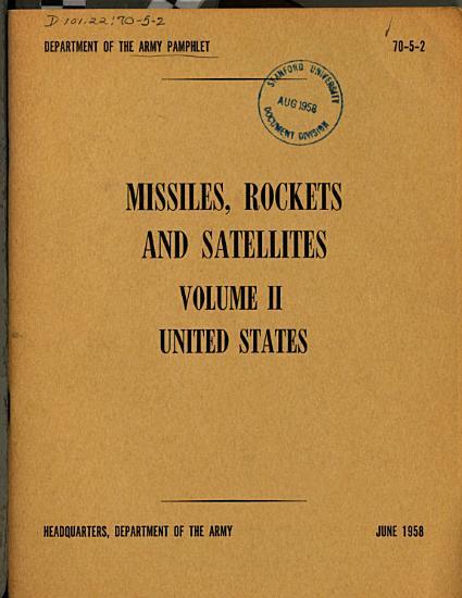 Missiles  Rockets and Satellites  v l  U S S R PDF