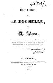 Histoire de la Rochelle