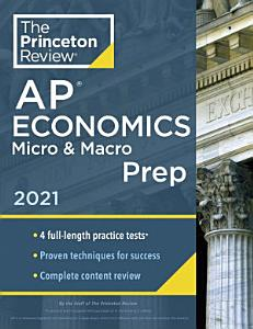 Princeton Review AP Economics Micro   Macro Prep 2021 Book