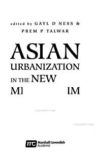 Asian Urbanization in the New Millennium PDF