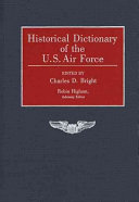 Historical Dictionary of the U S  Air Force PDF