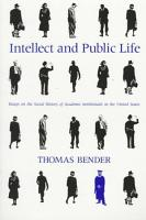 Intellect and Public Life PDF