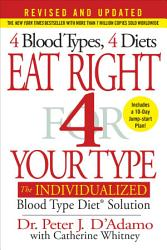 Eat Right 4 Your Type Revised And Updated  Book PDF