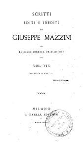 *Opere di G. Mazzini: 7: Politica. 5