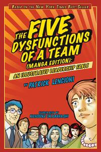 The Five Dysfunctions of a Team  Manga Edition Book