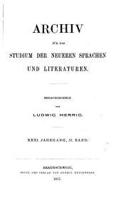 archiv fur da studium der neuren sprachen un literaturen
