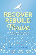 Recover  Rebuild  Thrive