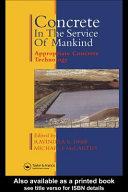 Concrete in the Service of Mankind