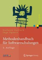 Methodenhandbuch f  r Softwareschulungen PDF