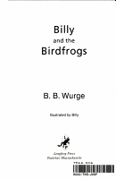 Billy and the Birdfrogs PDF