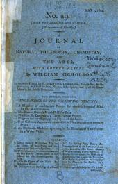 Journal of Natural Philosophy, Chemistry and the Arts