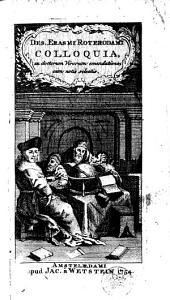 Colloquia, ex doctorum virorum emendatione, cum notis selectis