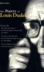 The Poetry of Louis Dudek: Definitive Collection