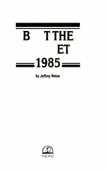 Beat the Market  1985 PDF