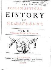 The ecclesiastical history of M. l'abbé Fleury: Volume 2