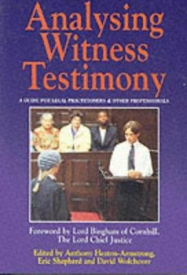 Analysing Witness Testimony PDF