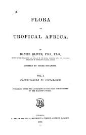 Flora of Tropical Africa: Volume 1