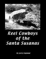 Reel Cowboys of the Santa Susanas PDF