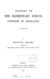 History of the Elementary School Contest in England