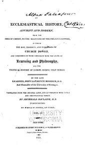 An ecclesiastical history: Volume 4