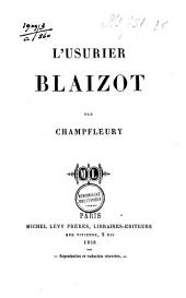 L'usurier Blaizot