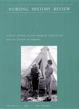 Nursing History Review  Volume 13  2005 PDF