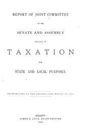 Documents of the Assembly of the State of New York: Volume 13
