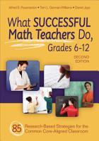 What Successful Math Teachers Do  Grades 6 12 PDF