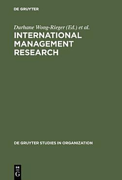 International Management Research PDF