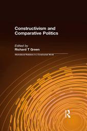 Constructivism and Comparative Politics