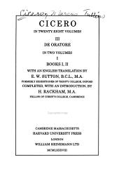 De Oratore Book 3 PDF