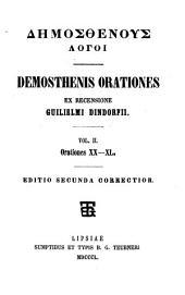 Demosthenis Orationes: p. 2. Orationes XXIV-XL