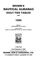 Brown s Nautical Almanac PDF