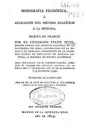Nosografía filosófica o Aplicación del método analítico á la medicina: Volumen 2