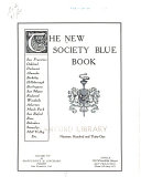 The New Society Blue Book PDF