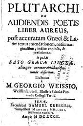 De audiendis poetis Liber