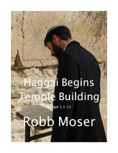 Haggai Begins Temple Building: Haggai 1:1-11
