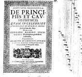 De principiis et causis physicis