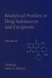 Analytical Profiles of Drug Substances and Excipients: Volume 28