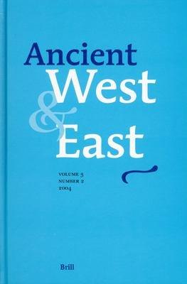 Ancient West & East , Volume 3 Volume 3, No 2