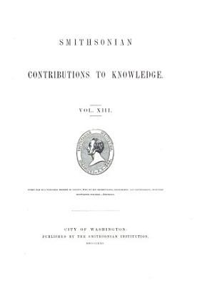 Smithsonian Contributions to Knowledge PDF