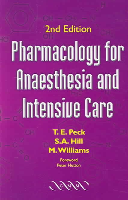 Pharmacology for Anaesthesia and Intensive Care