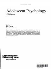 Adolescent Psychology PDF