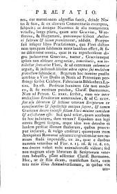 Epitome rerum Romanarum: Volume 1