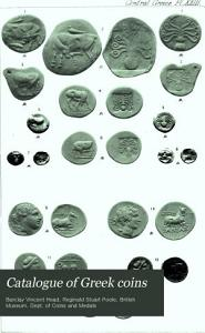 Catalogue of Greek Coins PDF