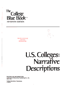 The College Blue Book PDF