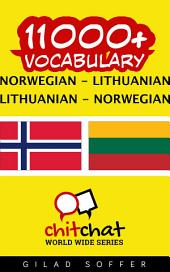 11000+ Norwegian - Lithuanian Lithuanian - Norwegian Vocabulary