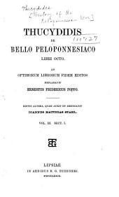 Thucydidis De Bello Peloponnesiaco libri octo: Volume 3