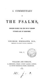 A commentary on the Psalms: Volume 1